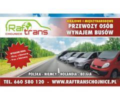 Busy do Niemiec - Raftrans Chojnice !